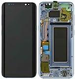 display lcd originale samsung g950f galaxy s8 blue vetrino touch vetro schermo