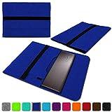 NAUC Lenovo Thinkpad Yoga 370 Tasche Hülle Filz Sleeve Hülle Schutzhülle Notebook Cover, Farben:Blau