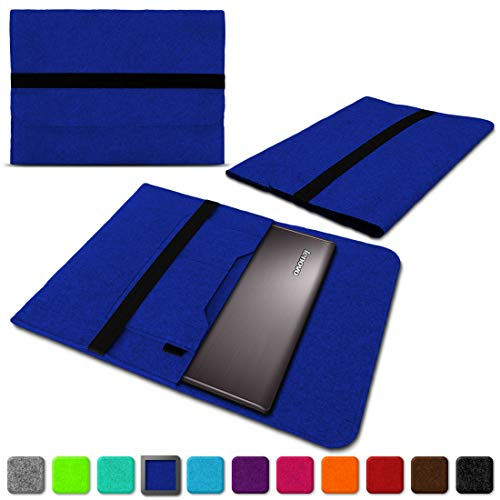NAUC Lenovo Thinkpad Yoga 370 Tasche Hülle Filz Sleeve Case Schutzhülle Notebook Cover, Farben:Blau