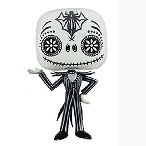 The Nightmare Before Christmas Pop Figure Day of The Dead (Jack) Chibi Vinly PVC Decor Collection Model Decorations