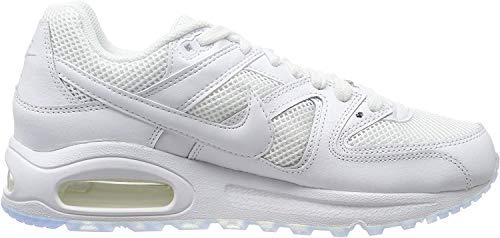 Nike Herren AIR MAX Command Hallenschuhe, Weiß (White_112), 44.5 EU