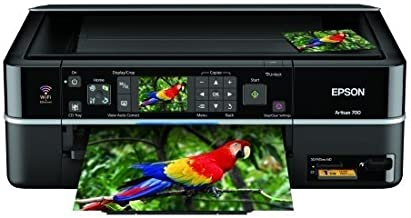 Epson Artisan 700 Photo All-in-One Printer (Black) (C11CA30201)