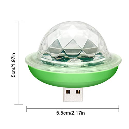 S-TROUBLE Mini Ball LED Licht USB Powered Stage Light RGB Lampe für An-Droiden/App-le Adapter