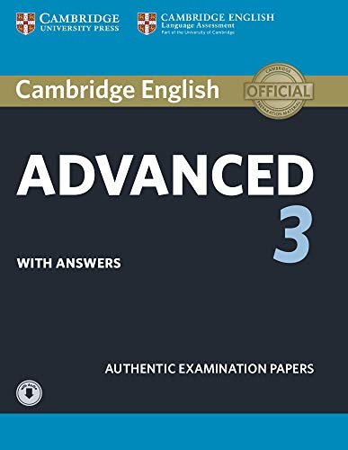 Cambridge english advanced 3 - student's book with answers