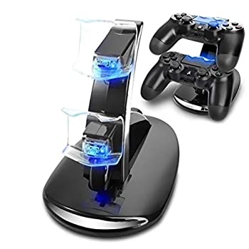 USB Charging Dock PS4 PS4 Controller Charging Dock Suitable for Sony Playstation 4 / PS4 / Slim / PS4 Pro Charging Dock