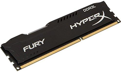 Kingston HyperX Fury DDR3 1600 MHz, lage spanning 8GB zwart