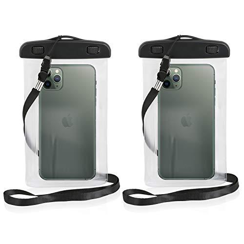 Wicked Chili wasserdichte Handyhülle kompatible mit iPhone 13/12 (Pro Max) 11 Pro Max, 11, XS Max, XR, 8 Plus, 7 Plus, 6 Plus Waterproof Hülle gegen Staub, Sand, Nässe (iPX8) Outdoor Schutzhülle