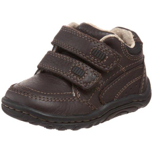 Stride Rite Pierce BB35736 Chaussures d'apprentissage pour garçon - Marron - Braun Dark Brown, 21 EU
