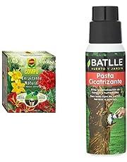 Compo Enraizante natural, Para esquejes, semillas y bulbos, 5 sobres de 10 g + Semillas Batlle Jardin Sano 720900UNIT Pasta Cicatrizante Tubo 250g