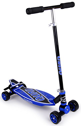 Fantastic Deal! Fuzion Quad 4 Wheel Carving Kids Scooter