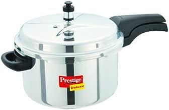 Prestige Pressure Cooker, 6.5 L, Silver