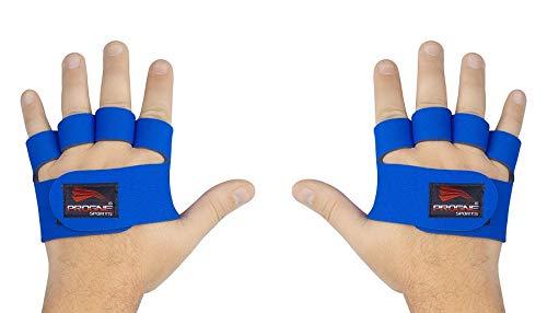 PROGNE SPORTS REF 3300 Luvas para Treinamento de Musculação e Fitness, P, Azul