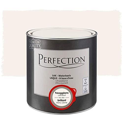 Laca de Color Base Agua, Perfection - Gloss - RAL 9001 Crema...