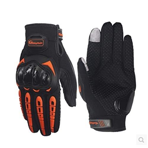Guanti da ciclismo touchscreen Protezione nocche antiscivolo Guanti da bici da ciclismo Guanti da bici traspiranti regolabili