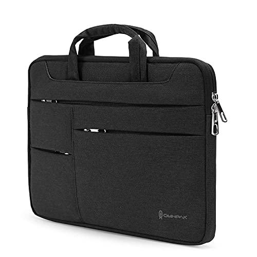 Omnpak 13 Zoll Laptoptasche mit Handgriff, Laptop Hülle für 13