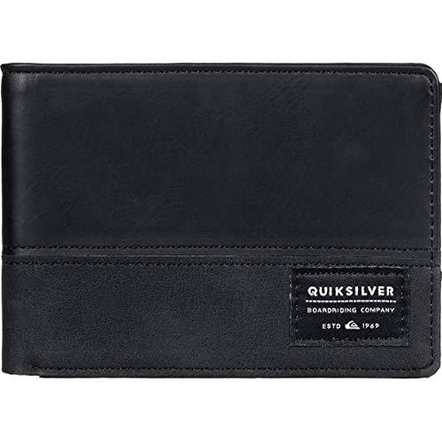 Quiksilver Herren NATIVECOUNTRY II Wallet Geldbörse, schwarz, Medium