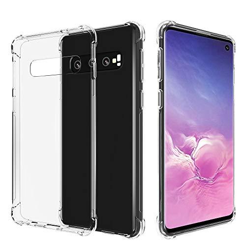 Migeec Coque Samsung Galaxy S10 - Souple TPU Silicone [Shock-Absorption] Ultra Mince Étui pour Samsung Galaxy S10