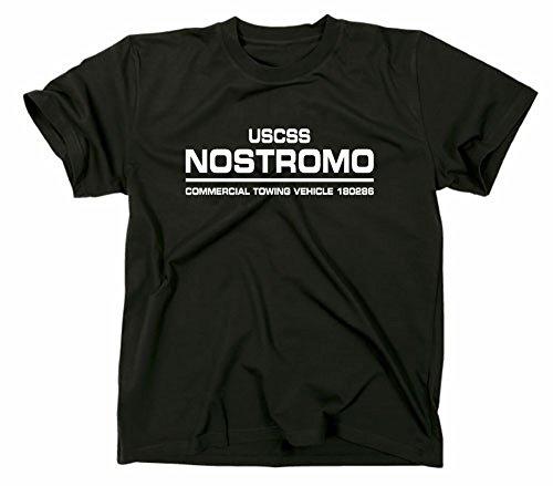 USCSS Nostromo Alien Film T-Shirt, schwarz, M