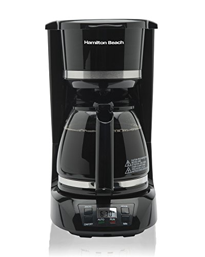 Hamilton-Beach 43874 12 Cup Digital Coffee Maker,Black