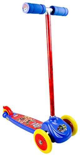 PAW PATROL OPAW199 - Flex Scooters, Non-Slip Deck, PVC Front Wheels, Rear Brake, 120 mm
