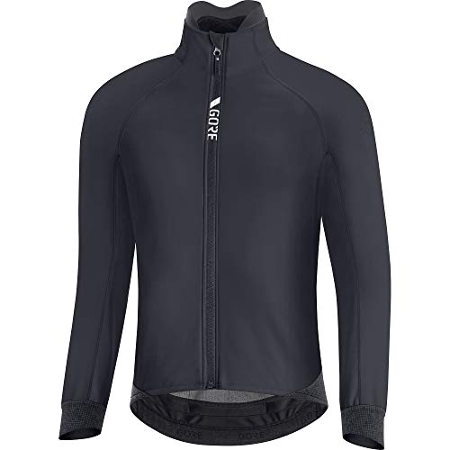 GORE WEAR Giacca termica da ciclismo per uomo, C5, GORE-TEX INFINIUM, XL, Nero