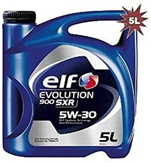 Elf 1951052031 - Aceite Sintã‰Tico Evolution 900 sxr 5w30 5l