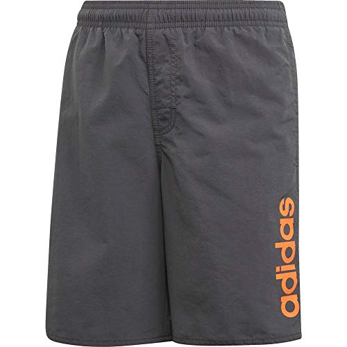 adidas Lineage Classic Length Youth Badehose für Kinder S Grau (Grey six)
