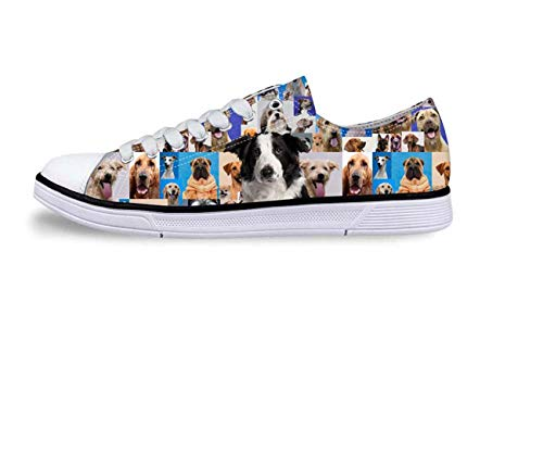 Hot Womens Low Top Shoes Canvas Pumps Ladies Cool Animal Casual Flats Sneakers C0221AP Cool UK 4 / EU 37