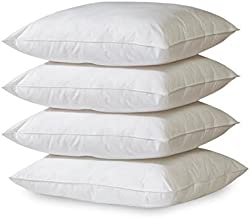 Millenium Linen 4- Pack Hypoallergenic Down Alternative Breathable Bed Pillows (Standard/Queen)