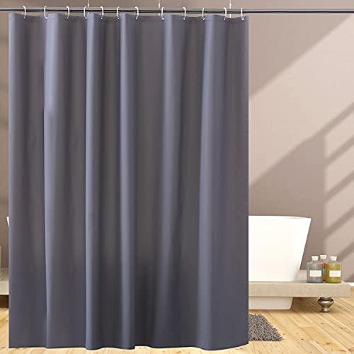 OTraki Duschvorhang 180 x 200 cm Anti-Schimmel Wasserdicht Antibakteriell Eva Shower Curtains für Dusche & Badewanne, Umweltfre&lich 0.2 mm Dicker Badvorhang mit 12 Duschvorhangringen