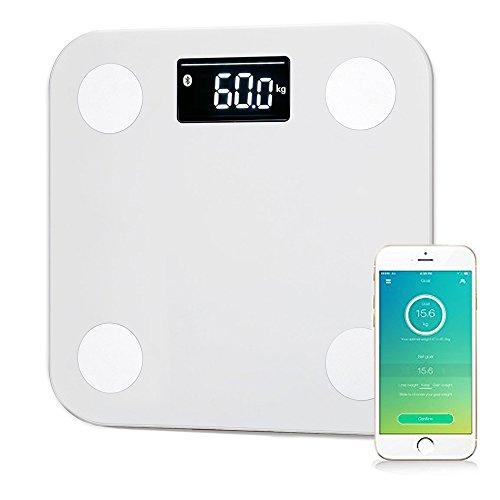 YUNMAI Báscula de Baño Digital con Análisis Corporal Electrónico, Control por medio de APP y Bluetooth