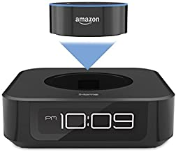 iHome iAVS1 Bedside Stereo Speaker System for Amazon Echo Dot [Dot sold separately] photo