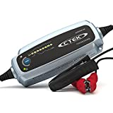 CTEK LITHIUM XS, Caricabatterie 12 V, Caricabatterie LiFePO4, Caricabatterie Litio, Caricabatterie Intelligente Caricabatterie Auto, Manutentore della Batteria con Connect and Forget