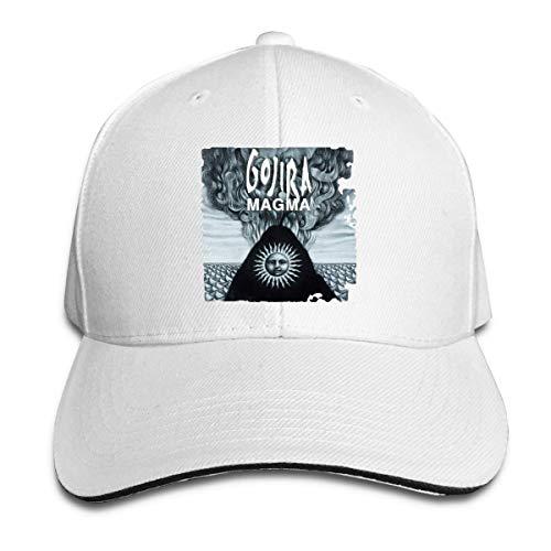 Tengyuntong Gorra de Lengua de Pato para Hombre para Mujer Gojira Magma Sombreros con Tirantes Ajustables