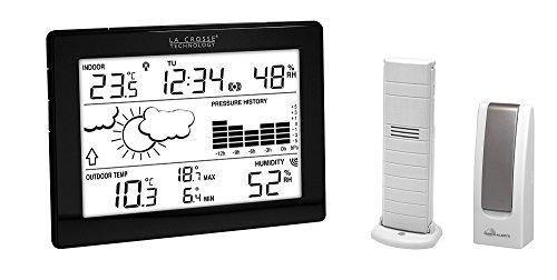 La Crosse Technology - Kit Mobile Alerts MA10006 station météo connectée complète avec passerelle - Noir