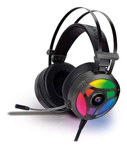 Headset Gamer Fortrek G Pro H1+ 7.1 Rgb Cinza