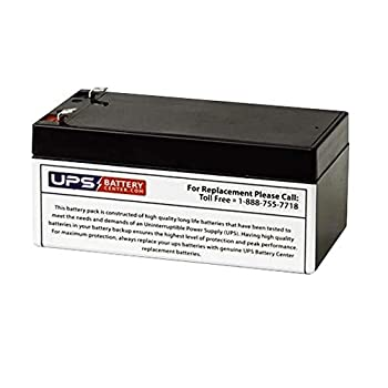 UPSBatteryCenter BE350R-CN Compatible Replacement Battery RBC35 for APC BackUPS ES 350VA 120V BE350R-CN