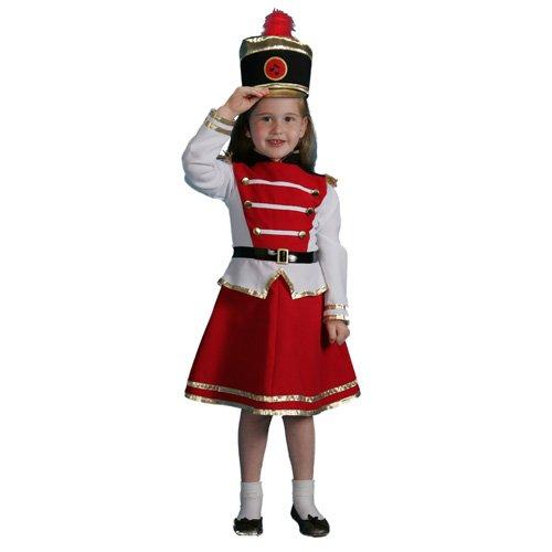 Dress up America Disfraz de Majorette de Tambor para niñas