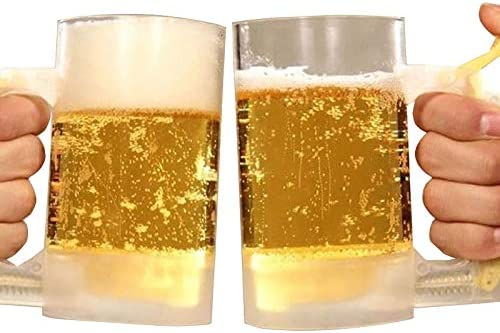 Details about  /Beer Glass Bubble Maker Party Foaming Mug Cup Drinking Buddy Gift
