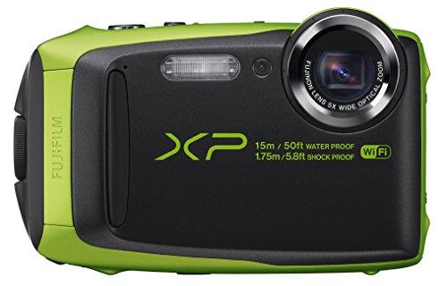 Fujifilm FinePix XP90 - Cámara digital compacta de 16 MP (sensor BSI-CMOS, zoom óptico 5x,...