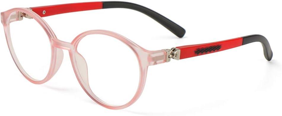 Moda Flexible Clases Online Gafas de ordenador Protección Ultra Light Frame Niños Gafas Anti-azul Luz Anteojos (3)