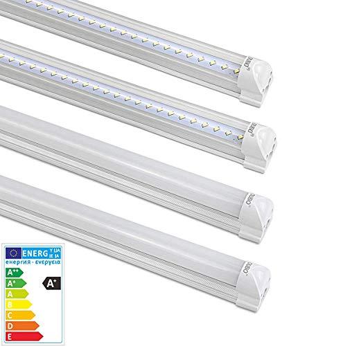 [PRO] LED Leuchtstoffröhre komplett 150CM LED Tube T8 Röhre Leuchtstofflampe mit Fassung, 24 Watt, 2750 Lumen, Neutralweiß 4000K