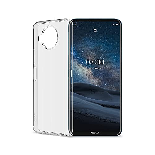 Nokia 8.3 5G and Clear Case | Android 10 | Unlocked Smartphone | Dual SIM | US Version | 8/128GB | 6.81-Inch Screen | 64MP Quad Camera | Polar Night