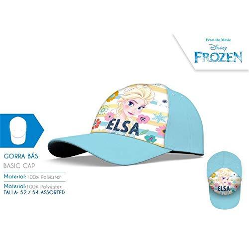 Disney Unisex Kinder Gorra de Frozen Kappe, bunt, Einheitsgröße