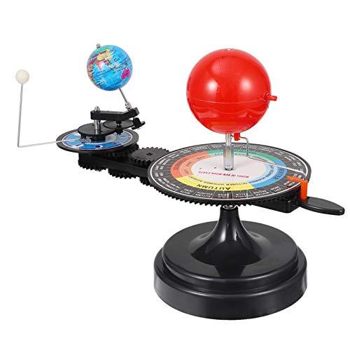 iplusmile Solar System Modell Kit Rotierenden Solar System Erde Und Mond Um Die Sonne Stem Spielzeug Wissenschaftliche Experiment Kit Für Eclipse Lunar Eclipse Schwarz