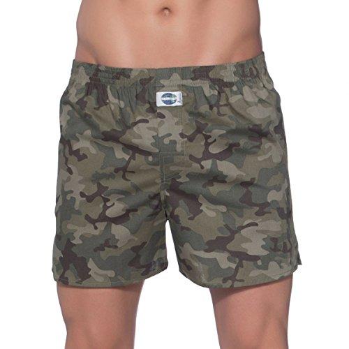 D.E.A.L International Boxershorts Camouflage Khaki Size L