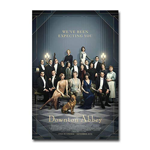 chtshjdtb Downton Abbey Movie Art Poster Leinwand Malerei Drucken Wohnzimmer Home Decor Artwork Malerei -20X28 Zoll No Frame 1 Pcs