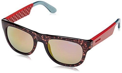 Carrera 5006 E2 1UH Gafas de sol, Rosa (Pink Havana Red Aqua/Gold Violet Mirror), 52 Unisex Adulto