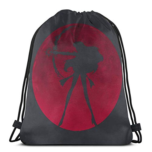 Corner Time Small Artificial Flowers Fullmetal Sport Bag Gym Sack Drawstring Backpack