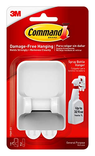 Command Spray Bottle Hanger with 2-Strips, Organize Damage-Free